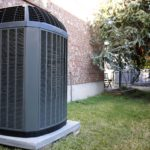 Double Check High efficiency modern AC-heater unit, energy save solution