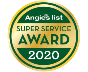 2020 Angies List Super Service Award